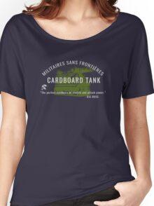 Cardboard Tank - Metal Gear Solid Peace Walker Women's Relaxed Fit T-Shirt
