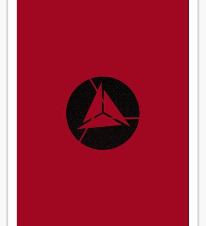 Alliance Logo - Elite - Red Starscape Sticker
