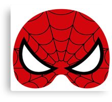 super hero mask (spider man) Canvas Print
