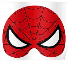 super hero mask (spider man) Poster