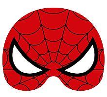 super hero mask (spider man) Photographic Print