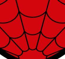 super hero mask (spider man) Sticker