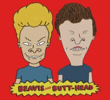 Beavis and Butthead  One Piece - Long Sleeve