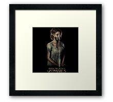 pride prejudice zombies movie Framed Print
