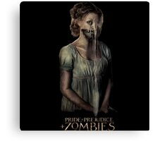 pride prejudice zombies movie Canvas Print