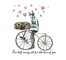 Romantic Valentine's bicycle ride by jenniferrizzo