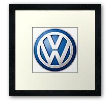 Volkswagen Logo Framed Print