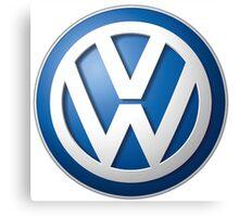 Volkswagen Logo Canvas Print