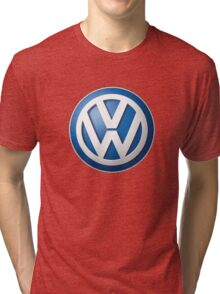 Volkswagen Logo Tri-blend T-Shirt