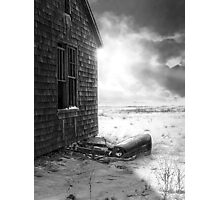 Front End - Black and White Photographic Print