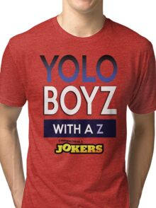 Yolo Boys With A Z (Impractical Jokers) Tri-blend T-Shirt