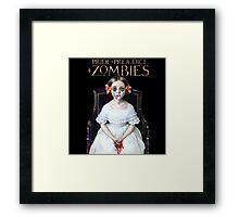 pride prejudice zombies the movie Framed Print