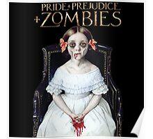pride prejudice zombies the movie Poster