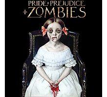 pride prejudice zombies the movie Photographic Print