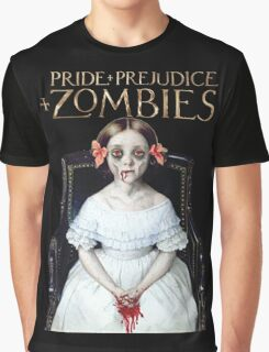 pride prejudice zombies the movie Graphic T-Shirt