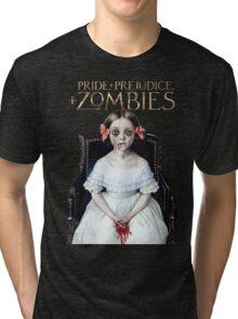 pride prejudice zombies the movie Tri-blend T-Shirt
