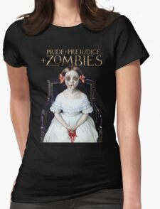 pride prejudice zombies the movie Womens Fitted T-Shirt