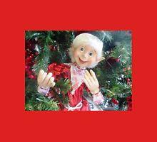 *On the Christmas Tree in Gisborne florist Shop - Vic. Aust.* Unisex T-Shirt
