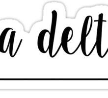 Alpha Delta Pi Arrow Sticker