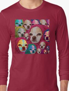 the doggo is become the worm and the worm is become the doggo Long Sleeve T-Shirt