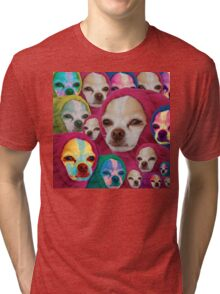 the doggo is become the worm and the worm is become the doggo Tri-blend T-Shirt