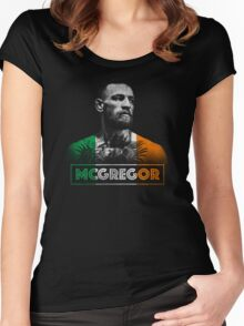Conor McGregor (Tri) Women's Fitted Scoop T-Shirt