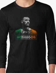 Conor McGregor (Tri) Long Sleeve T-Shirt