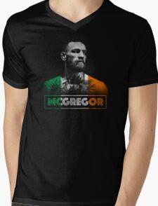 Conor McGregor (Tri) Mens V-Neck T-Shirt