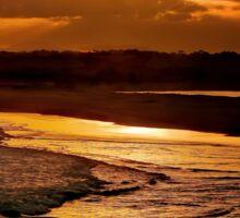 Sunset Serenade Sticker
