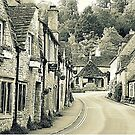 Castle Combe, Wiltshire, England by Barbara Caffell