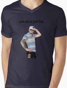 josh dun is josh fun Mens V-Neck T-Shirt