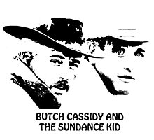 Butch Cassidy and the Sundance Kid Photographic Print
