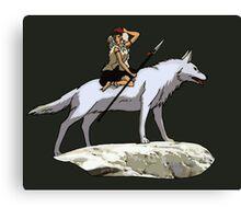 Mononoke riding. Canvas Print