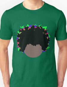 Psychedelic Dope Afro by Anne Winkler Unisex T-Shirt