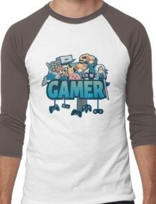Gamer Men's Baseball ¾ T-Shirt