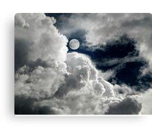 DREAMY MIDNIGHT SKY Canvas Print