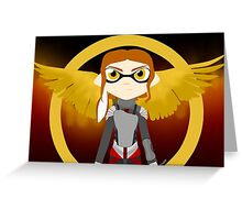 Splatoon - The Hunger Games Greeting Card