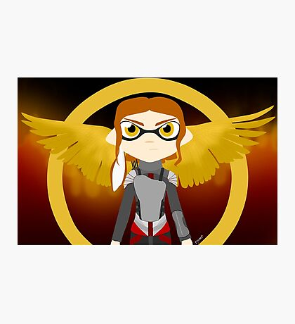 Splatoon - The Hunger Games Photographic Print