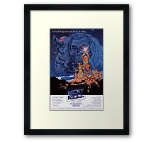 The Next Reel 2016 Commemorative Poster Framed Print