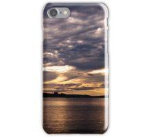 Sunset-Casco Bay iPhone Case/Skin