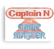 Captain N The Game Master Canvas Print
