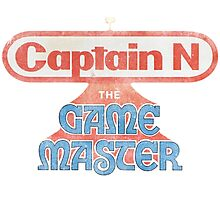 Captain N The Game Master Photographic Print