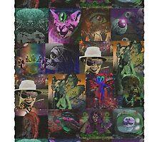 Dark Threads Blotter Art by Dark Threads