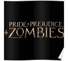 pride prejudice zombies story movie Poster