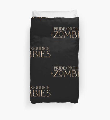pride prejudice zombies story movie Duvet Cover