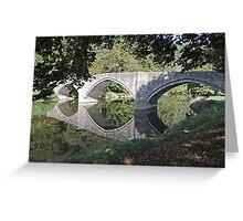 Stone bridge near Bouillon, Belgium Greeting Card