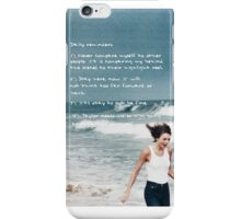 Taylor Swift Reminders iPhone Case/Skin
