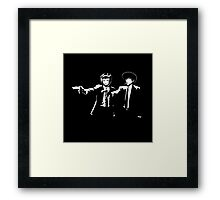 Cowboy Bebop Pulp Fiction Framed Print