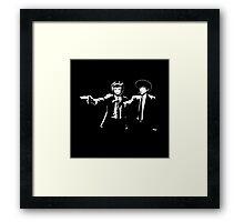 Cowboy Bebop Pulp Fiction Framed Print
