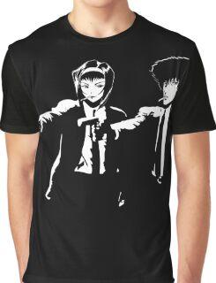 Cowboy Bebop Pulp Fiction Graphic T-Shirt